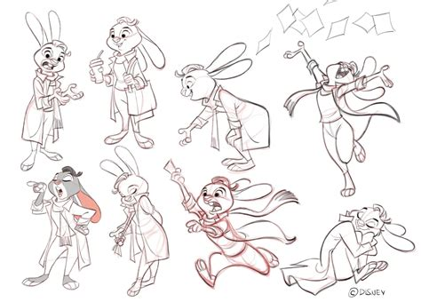 layout animation pdf cool art poses from borja montoro by zootopiafanart on