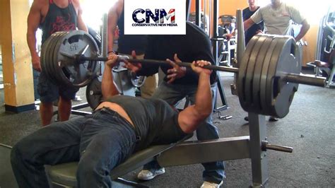 500lb bench press wow near 500lb raw bench press youtube