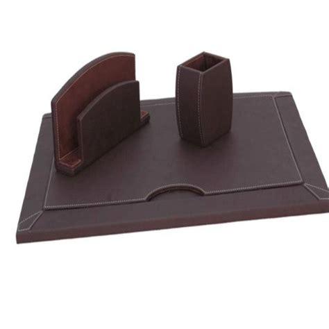 cuir pour bureau set de bureau en cuir artisanat decoration au maroc