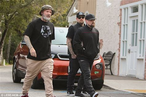 Joel and Benji Madden out with Limp Bizkit's Fred Durst