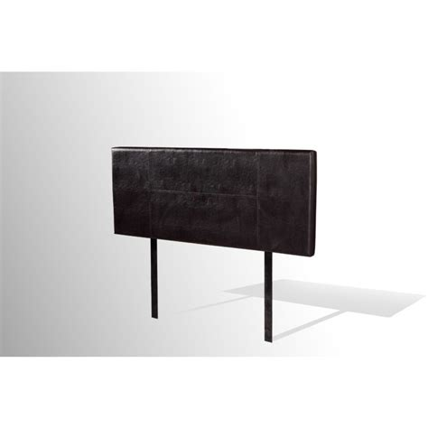 leather headboard double double size stitched pu leather headboard in black buy