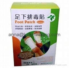 Detox Foot Patches Diy by Foot Patch Products Diytrade China Manufacturers