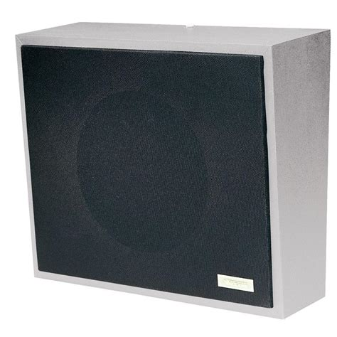valcom metal wall speaker vc v 1052c the home depot