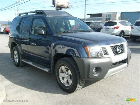 2010 navy blue metallic nissan xterra s 4x4 45395775 photo 10 gtcarlot car color galleries