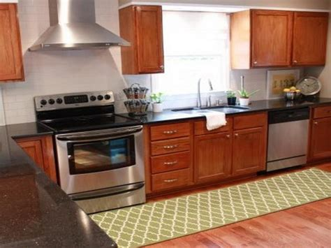 Kitchen Floor Rugs Bloombety Washable Kitchen Rugs Ideas Benefits Of Washable Kitchen Rugs