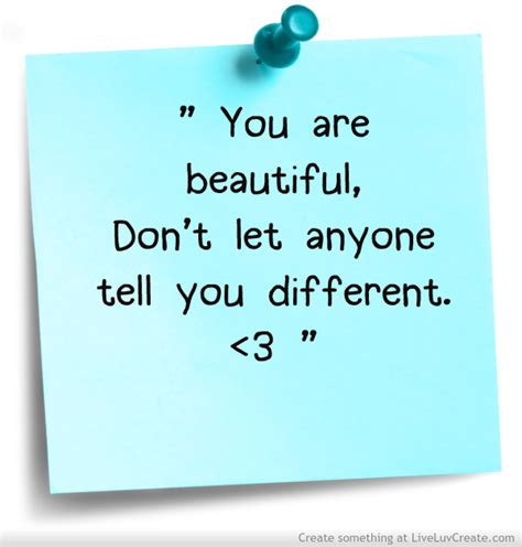 you are beautiful quotes for girls quotesgram