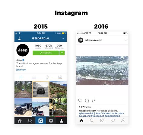 instagram ux design complexion reduction a new trend in mobile design ux blog
