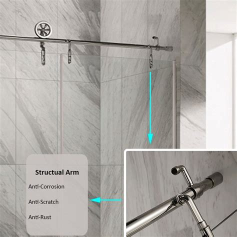 barn shower door luxury style shower barn door sliding glass shower door
