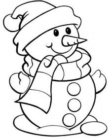 snowman coloring sheets color page snowman snowman wearing hat