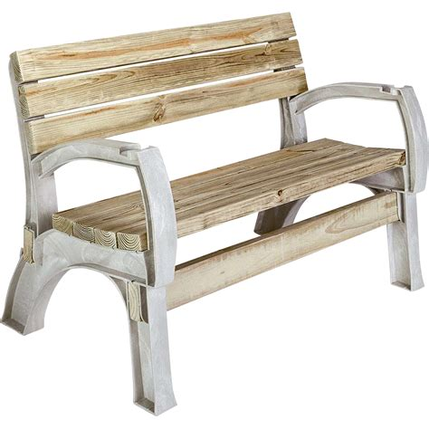 basic bench 2x4 basics anysize bench chair kit sand model 90134 northern tool equipment