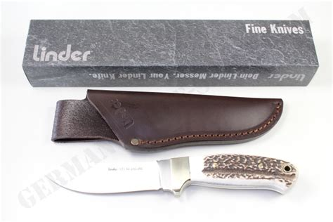 ats 34 knife linder stag ats34 knife german knife shop
