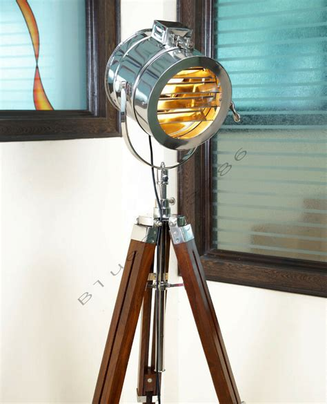 designer marine floor lamp nautical spot studio tripod floor lamps search light ebay