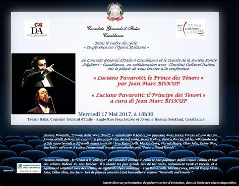 consolato generale d italia casablanca 171 luciano pavarotti il principe dei tenori 187 a cura di
