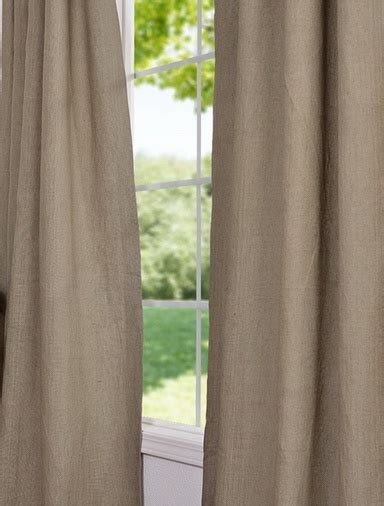 burlap linen curtains burlap french linen curtain curtain ideas pinterest