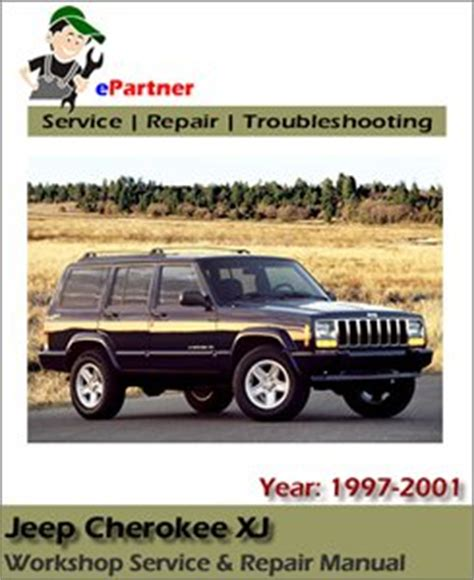 best car repair manuals 1997 jeep grand cherokee electronic toll collection jeep cherokee xj service repair manual 1997 2001 automotive service repair manual