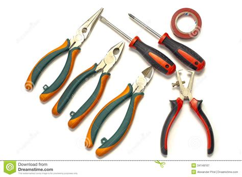 use tool electrician tools royalty free stock photography image