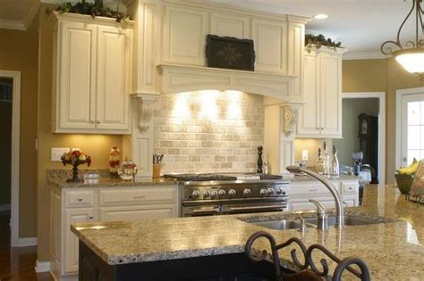 Houzz Kitchen Backsplash Ideas Granite Countertops And Tile Backsplash Ideas Eclectic Kitchen Indianapolis By Supreme