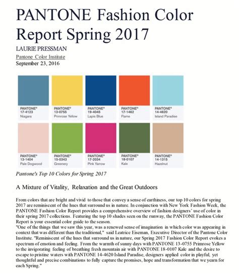 spring colors 2017 2017 spring colors susan brady