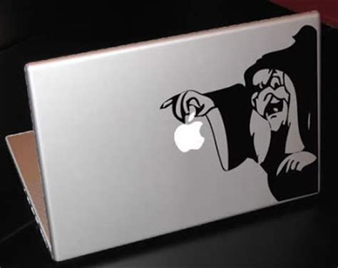 Space Invader Macbook Decal Black coolpics awesome macbook cover designs