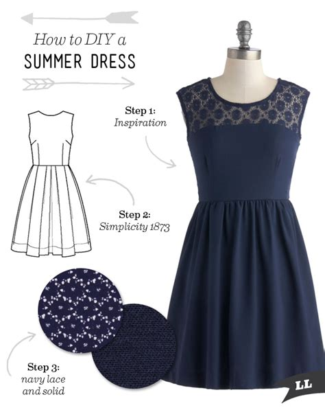 dress pattern how to make how to diy a summer dress sew diy