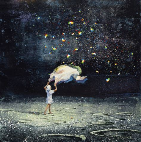 magical realism  eric roux fontaines dreamlike