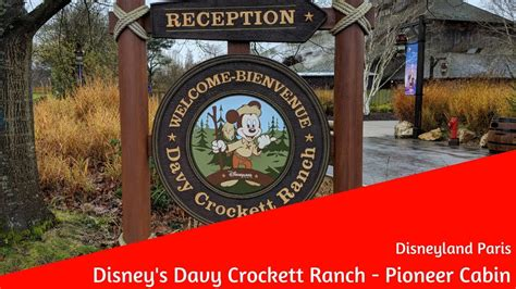 davy crockett ranch premium cabin disney s davy crockett ranch pioneer cabin disneyland