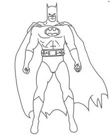 free coloring pages batman black outline
