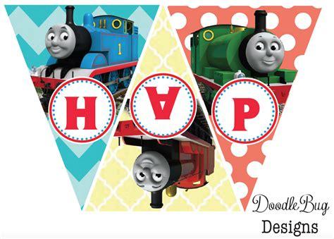 printable thomas the train party decorations doodlebug designs thomas the train birthday banner free