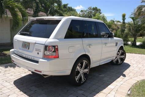 land rover factory warranty sell used 2011 land rover range rover sport supercharged