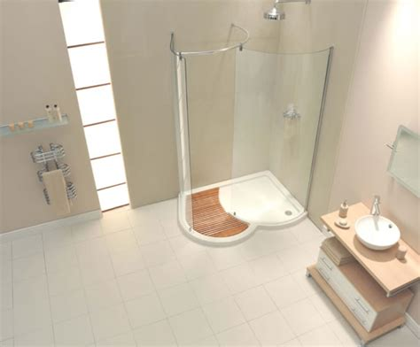 Walks In On In Shower by Aquaspace Organic Walk In Shower Enclosures Aqualux Products Esi Interior Design