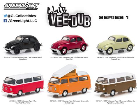 Greenlight 1968 Volkswagen Type 2 Limited Edition greenlight products in stock now ford mustangs vdub