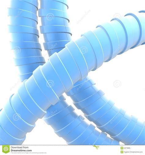 Blue Plumbing Pipe by Blue Pipes Royalty Free Stock Photo Image 2273085