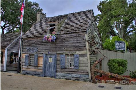 the house st augustine st augustine florida oldest wooden schoolhouse photo