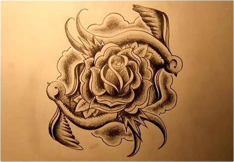 unique rose tattoo trend styles unique