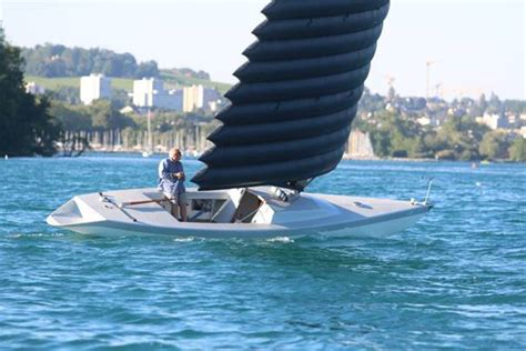 big  inflated wing sails sail magazine