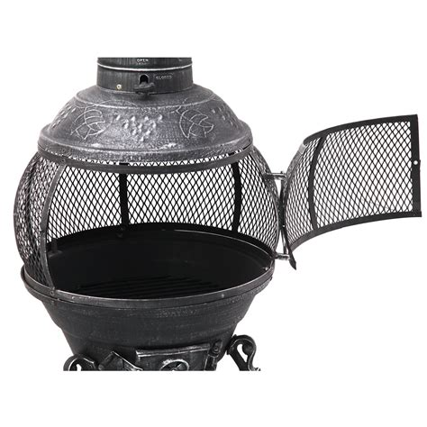 tepro guss feuerstelle lagerfeuer feuerkorb feuerstelle - Feuerstellen Schutz
