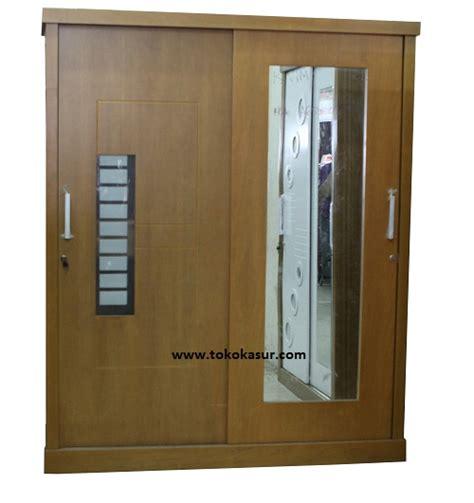 Lemari Pakaian Baju 3 Pintu Cermin Hitam 316 P lemari pakaian paling murahh lemari sliding lemari baju