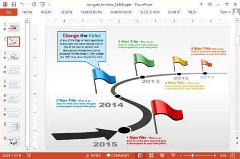 powerpoint template creator animated custom timeline template for powerpoint