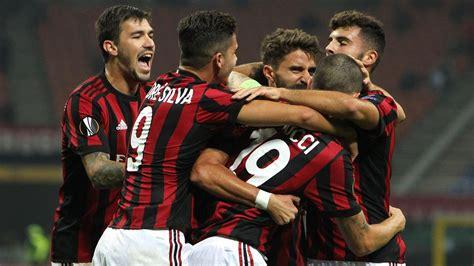 ac milan stay top  europa league group