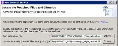sap jco tutorial integrating mdm server with enterprise information systems