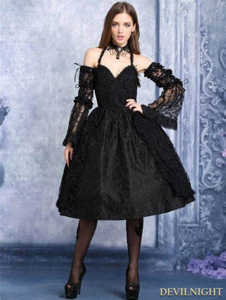 Halter Lace Dress W8255 Black black lace halter dress devilnight co uk