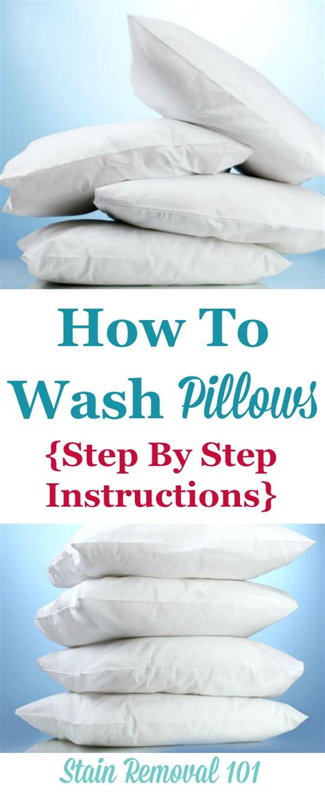 wash pillows dry   theyre  lumpy