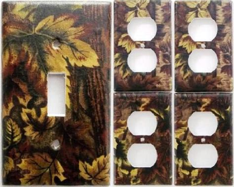mossy oak home decor mossy oak camo camouflage light switch plate cover set 1 4