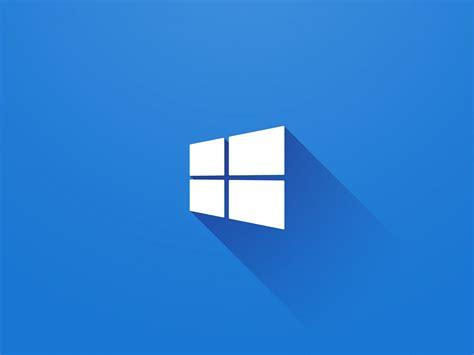 windows  logo  blue desktop preview wallpapercom