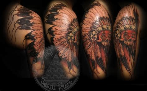 chief tattoo 26 indian chief sleeve tattoos