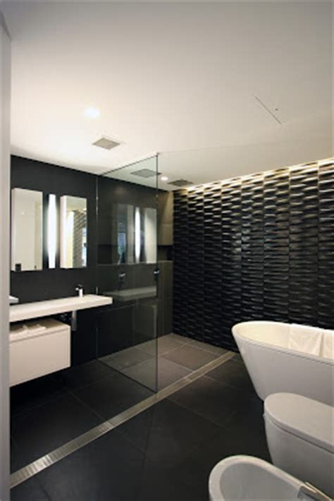 Modern Bathroom Feature Tiles Minosa Tom Ferguson Design Modern Bathroom Design