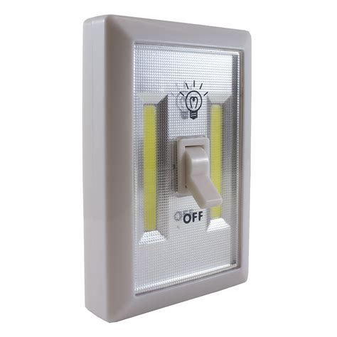 led light switch promier wireless light switch cob led battery powered