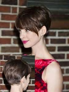 hair ears longer in back long bang pixie cut the best short hairstyles for women 2016