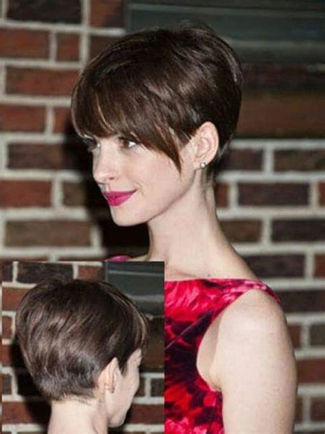 pixie hair cut with out bang long bang pixie cut the best short hairstyles for women 2016