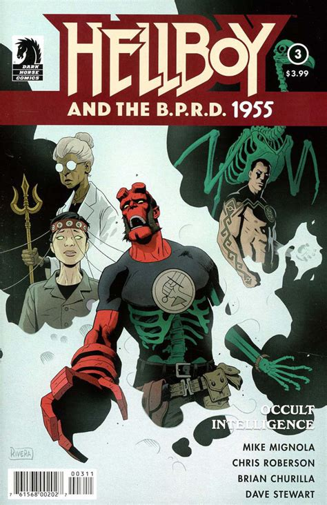 libro hellboy and the b p r d hellboy and the b p r d 1955 occult intelligence 2017 3 vf nm mike mignola